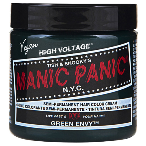 High Voltage Classic Cream Formula Green Envy Hair Color