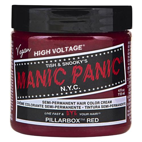 High Voltage Classic Cream Formula Pillarbox Red Hair Color