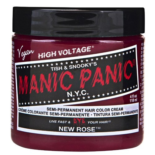 High Voltage Classic Cream Formula New Rose Hair Color