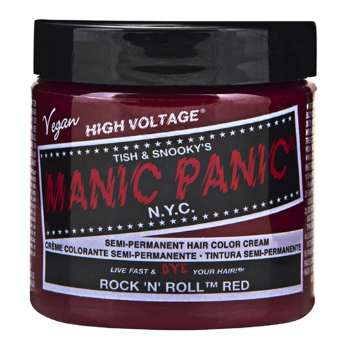 High Voltage Classic Cream Formula Rock N Roll Red Hair Color