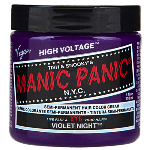 High Voltage Classic Cream Formula Violet Night Hair Color