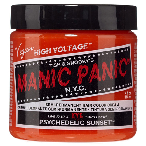 High Voltage Classic Cream Formula Psychedelic Sunset Hair Color