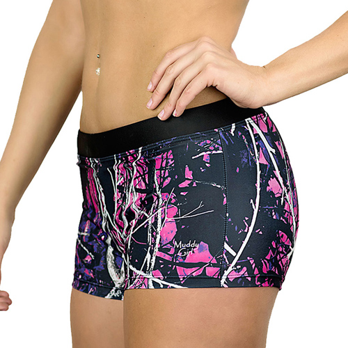 Moon Shine Camo Swim Shorts