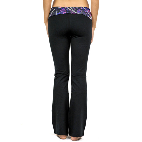 Moon Shine Muddy Girl Pink Camo Yoga Pants