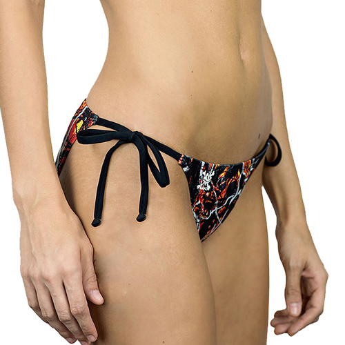 Moon Shine Camo Wildfire Side Tie Bikini Bottom