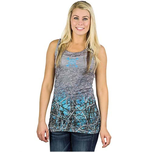 Muddy Girl Burnout Tank Top