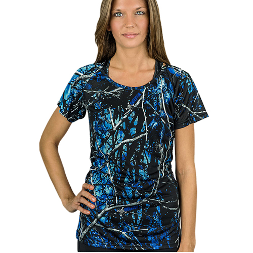 Moon Shine Camo Vent T-Shirt