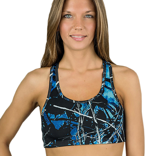 Moon Shine Camo Reversible Yoga Top