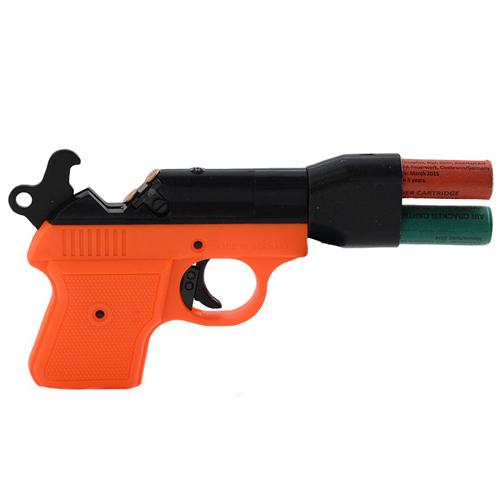 Record Double Shot Launcher Blank Gun