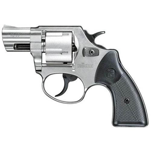 RG-59 Five Shot .380 Blank Silver Revolver