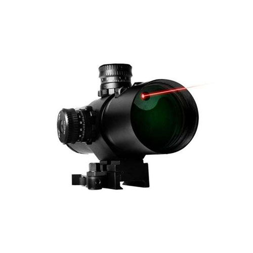 Vism CBT Series 3x42 Prismatic Scope With Integrated Red Laser