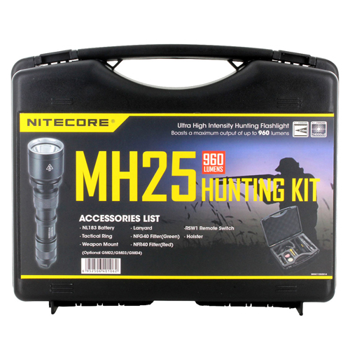 MH25 960 Lumens Flashlight Hunting Kit