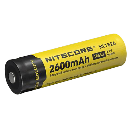 18650 Rechargeable Battery 2600mAh