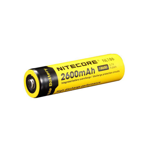 NL186 2600mAh 3.7V 9.6Wh Battery