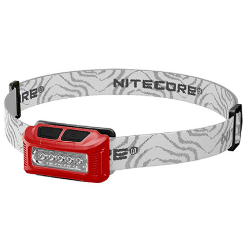 Nitecore NU10 Headlamp - Red