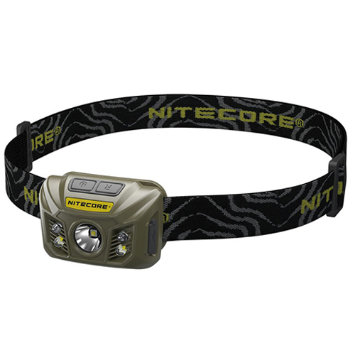 NU30 Headlamp - Military Green