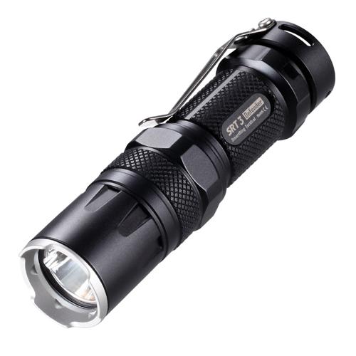 SRT3 Black 550 Lumens Flashlight