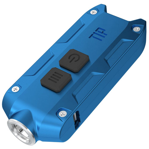 Tip 360 Lumen Keychain Flashlight - Blue