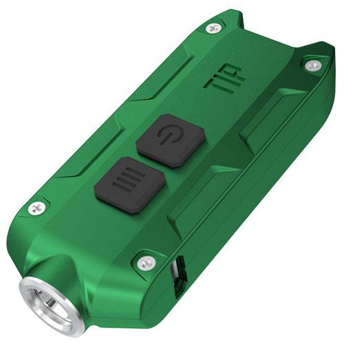 Nitecore Tip 360 Lumen Keychain Flashlight - Green