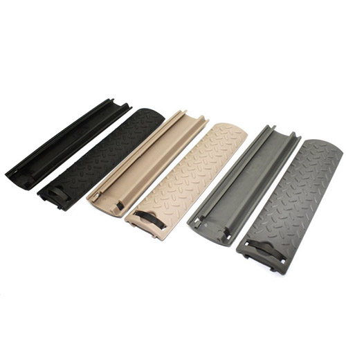 Ergo Diamond Plate Rail Cover 4 Piece Set - Tan