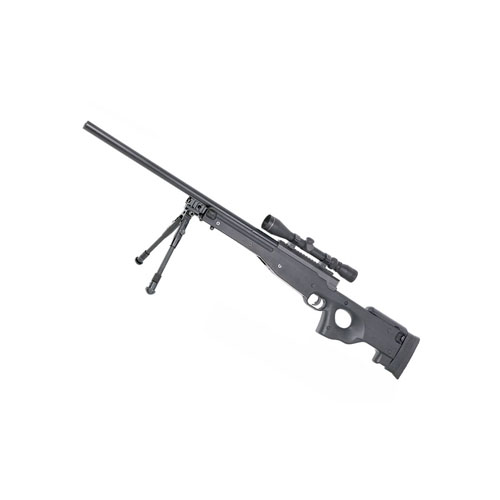 Mauser 14702 Spring Airsoft Sniper Black Rifle