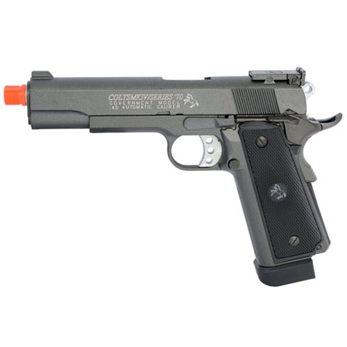 Colt 1911 MKIV Full Metal CO2 Blowback Airsoft Pistol
