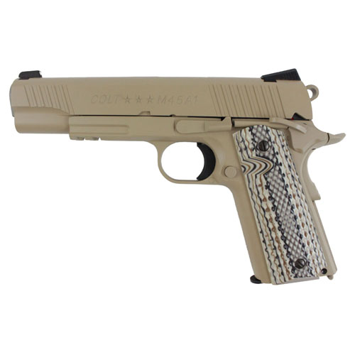 1911 Blowback Airsoft Pistol - Desert Tan