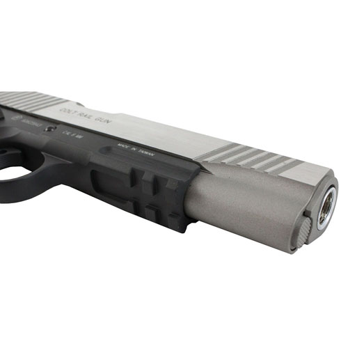 1911 Blowback Airsoft Pistol - Silver