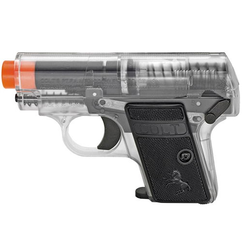 .25 Airsoft Pistol Clear Twin Pack