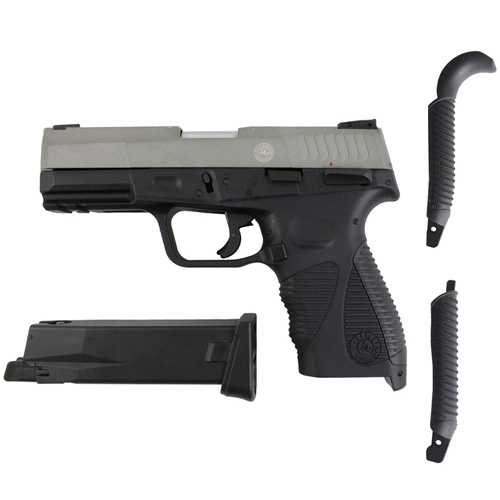 Taurus PT24/7 G2 CO2 Blowback Airsoft Pistol - Silver
