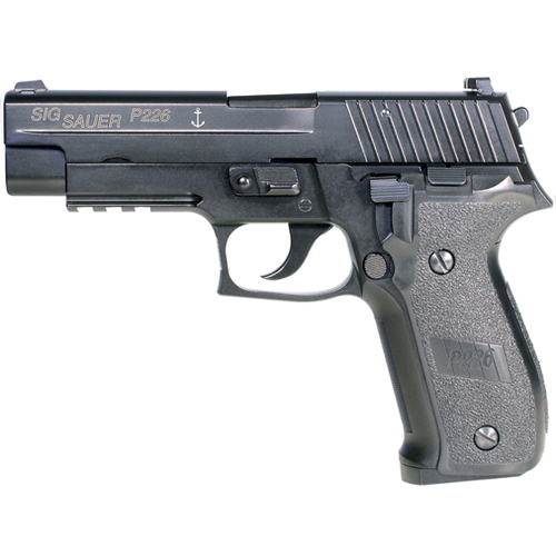Sig Sauer P226 Navy Gas Blowback Airsoft Pistol
