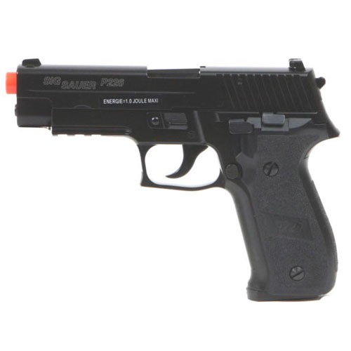 Sig Sauer P226 Gas Metal Blowback Adjustable Spin-up Airsoft Gun