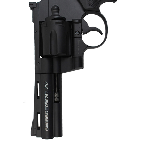 Swiss Arms 357 Magnum 4.5mm BB Pistol - 4 Inch