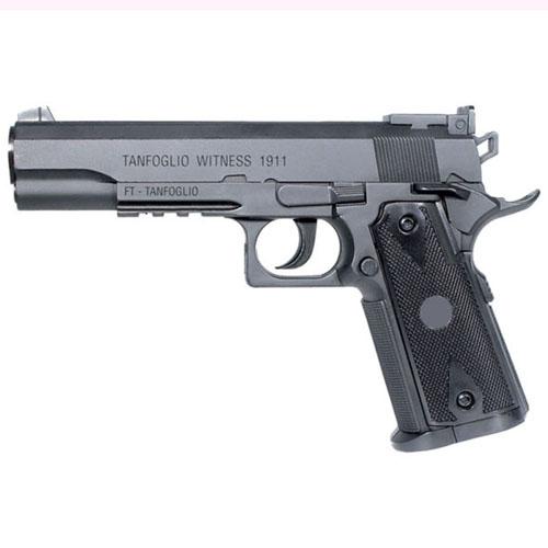 Tanfoglio 1911 4.5mm CO2 Semi-Auto Black Pistol