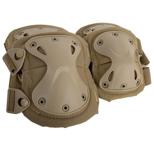 Cybergun AMP Core Knee-Elbow Pad Set - Tan