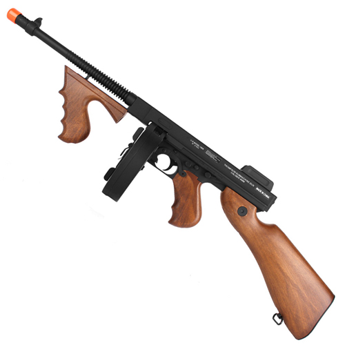 Cybergun Thompson Chicago Typewriter AEG Airsoft Rifle
