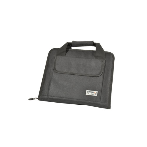 Swiss Arms Two Pistol Soft Case WIth Black Carry Handle