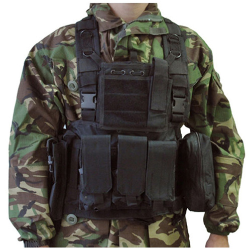 Swiss Arms Chest Black Rig