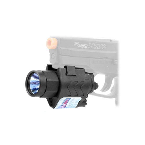 Swiss Arms Flashlight And Laser Set