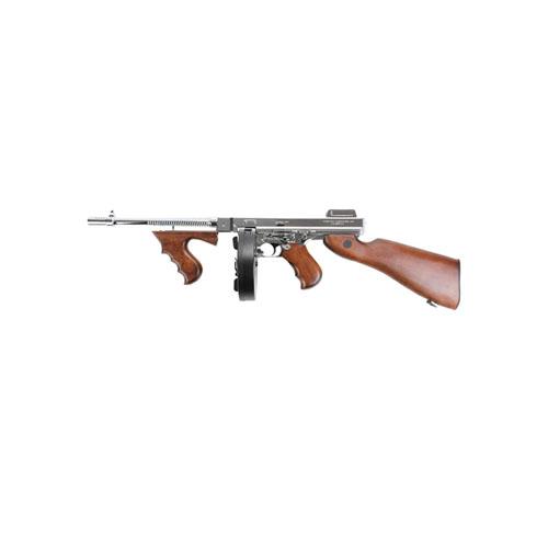 King Arms M1928 HI Grade Silver Thompson Airsoft Rifle