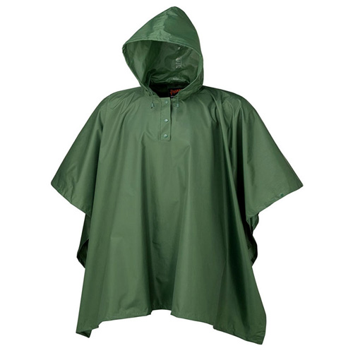 Pioneer Hooded Poncho Green