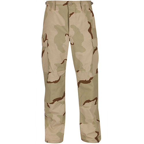 Men's Button Fly 100 Cotton BDU Pants