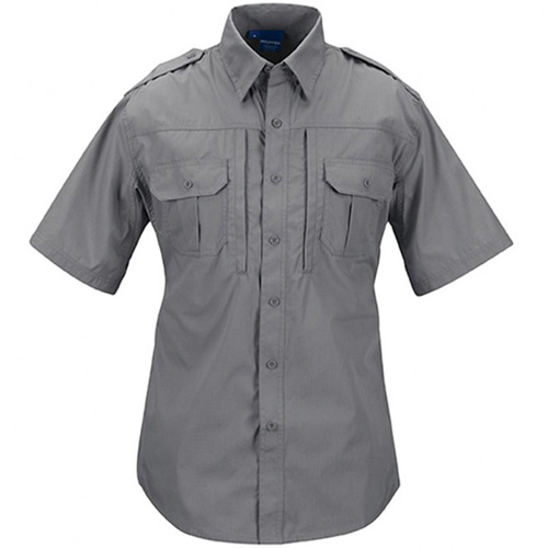 Short Sleeve Polycotton Ripstop Tactical Shirt