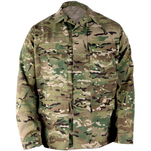 Men's BDU Coat - Cottonpoly Twill