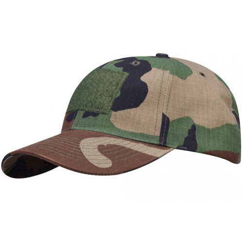 6 Panel Cap With Loop - 100 Cotton