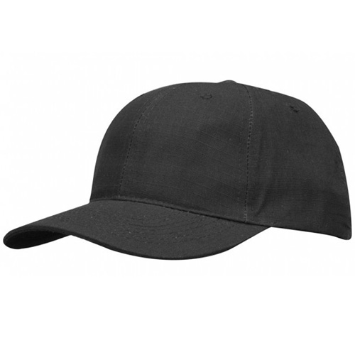 6 Panel Cap - Cottonpoly Ripstop