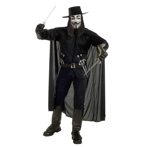 Rubies Mens V For Vendetta Costumes