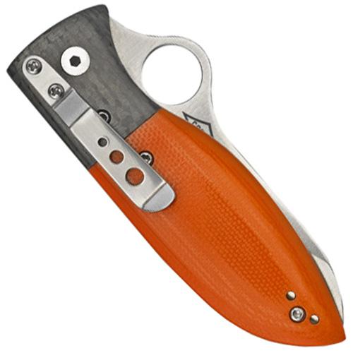Firefly Orange G-10 Handle Folding Knife