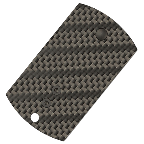 Dog Tag CPM-S30V Steel Blade Plain Edge Folder