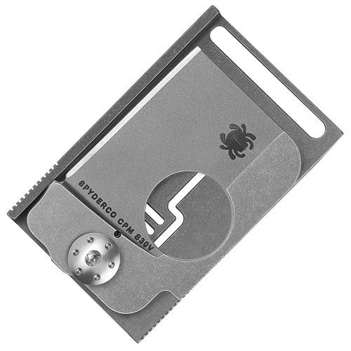 Squarehead Stonewash Titanium Folder